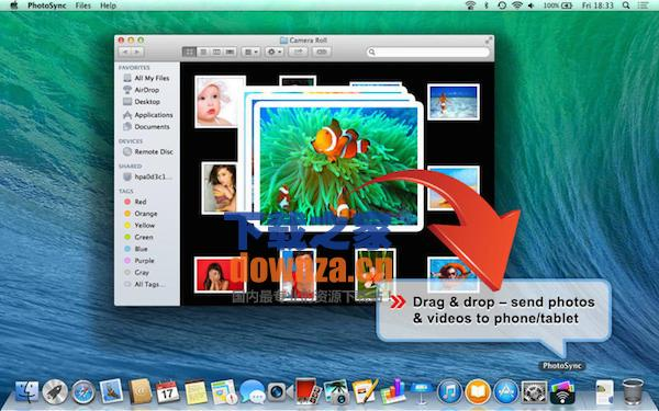 PhotoSync for mac截图