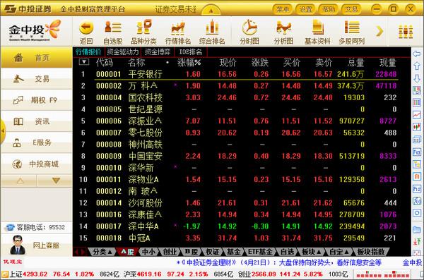 中投证券财富管理终端