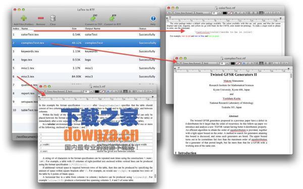 Latex Mac版
