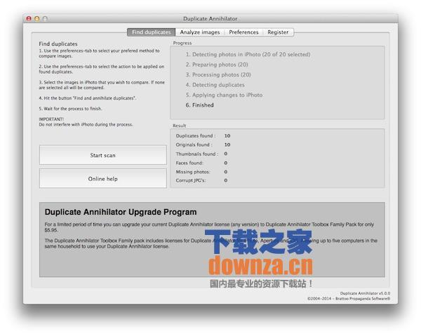Duplicate Annihilator for mac