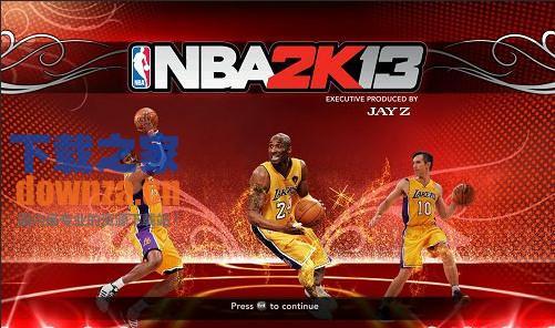 NBA 2K13湖人三巨头引导图