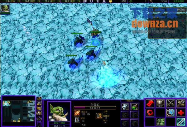 黑暗之夜无CD无限蓝(防守地图)截图