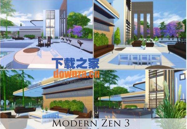 模拟人生4现代时尚公寓