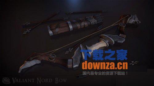 上古卷轴5英勇诺德弓和箭袋MOD