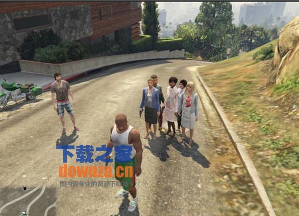GTA5pc版游戏随机保镖MOD