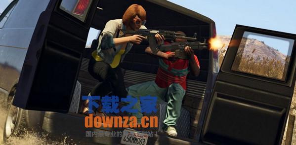 GTA5洛圣都全民枪战MOD