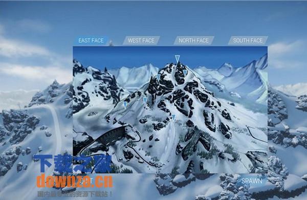 开放式滑雪游戏