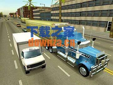18轮大卡车穿越美国截图