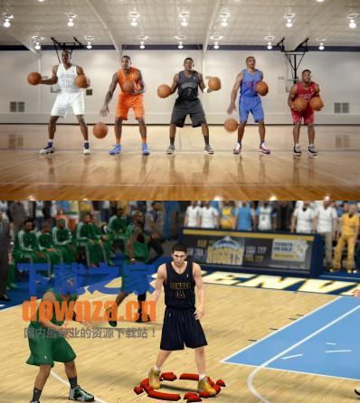 NBA2K13圣诞球衣大全mod截图