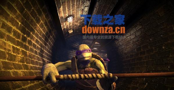 忍者神龟冲出阴暗游戏