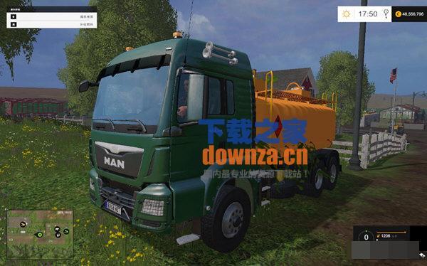 模拟农场15油罐车MOD