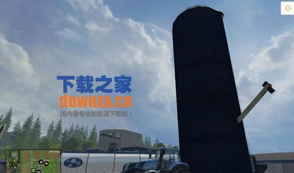 模拟农场15巨型移动筒仓MOD