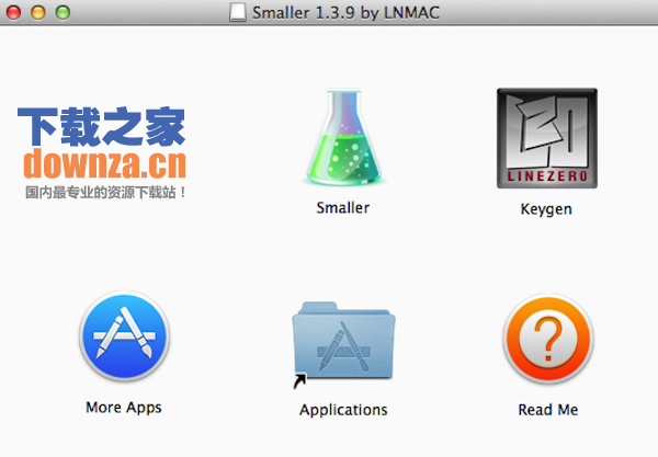 Smaller for mac截图