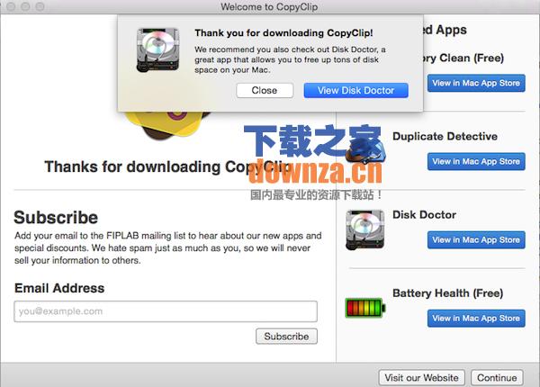 copyclip for mac截图