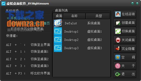 虚拟桌面(virtualdesktop)