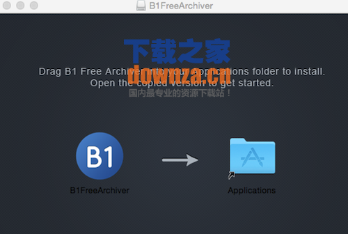 B1FreeArchiver for mac