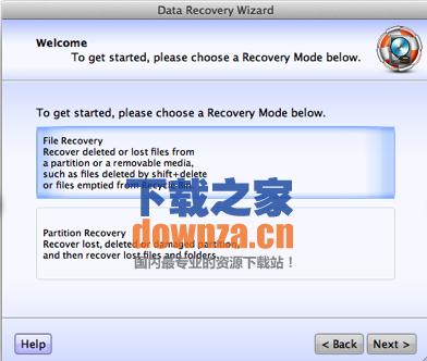 Lazesoft Mac Data Recovery for mac