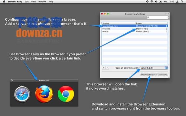 Browser Fairy for Mac截图