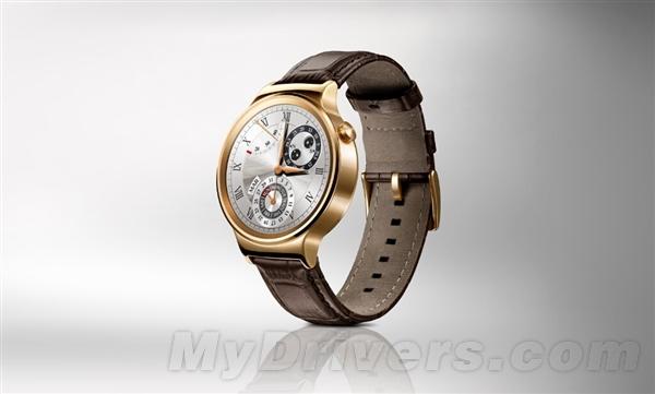 比苹果表更漂亮!华为智能手表行货要来了