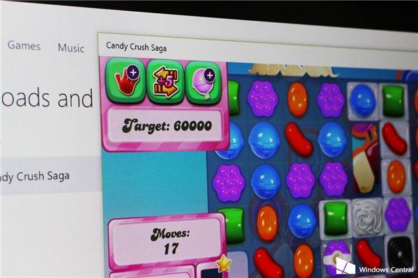 《糖果粉碎传奇》登陆Windows 10应用商店