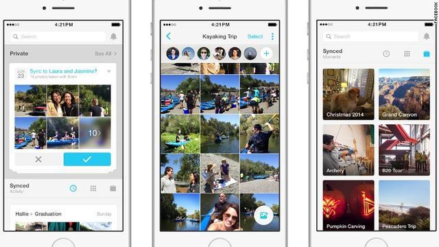 Facebook新图片应用Moments采用人脸识别技术