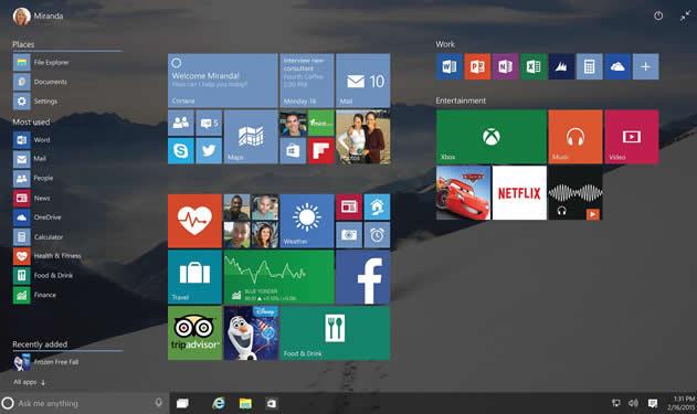 大神爆料Windows 10开发已接近正式版