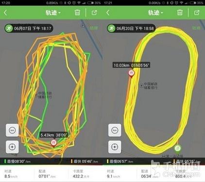 咕咚App让GPS从此不飘:强社交 精准轨迹