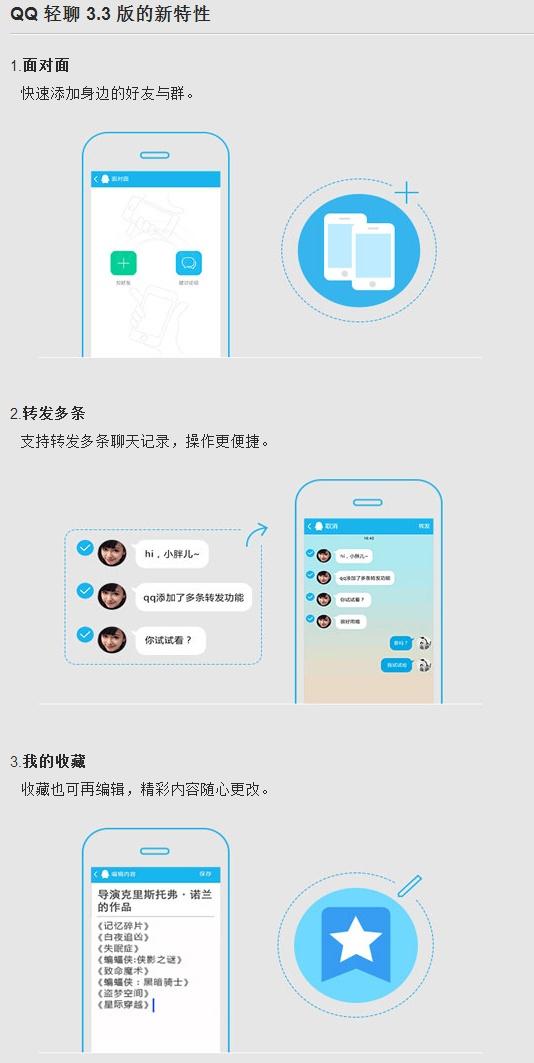 安卓QQ轻聊版3.3.0.544正式版发布:增加面对面功能