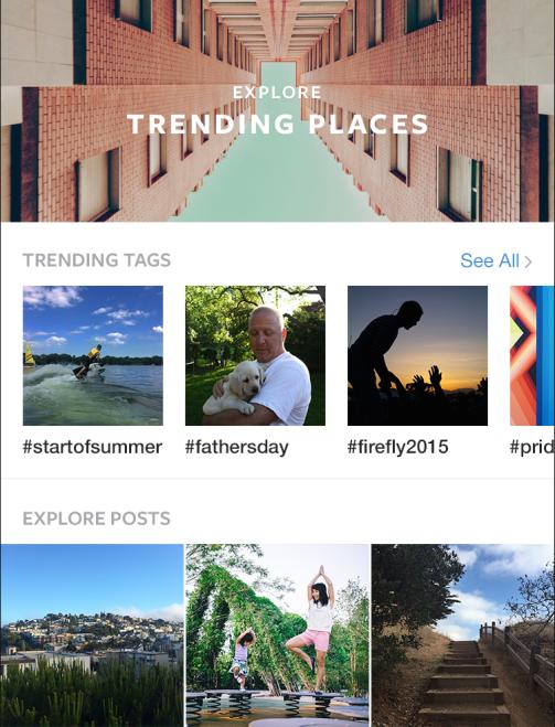 Instagram升级搜索功能,支持实时事件图片搜索