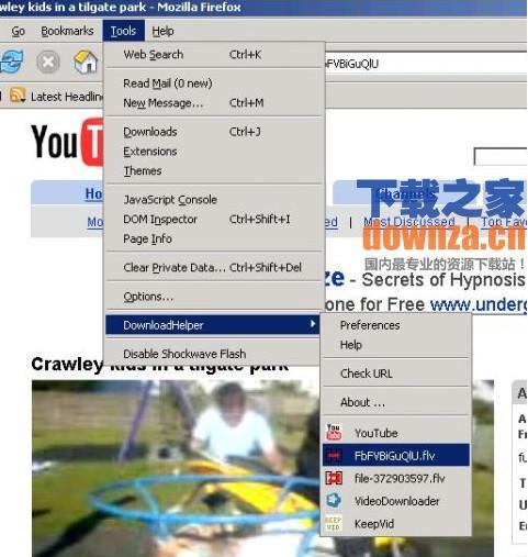 火狐视频下载插件(Video DownloadHelper)