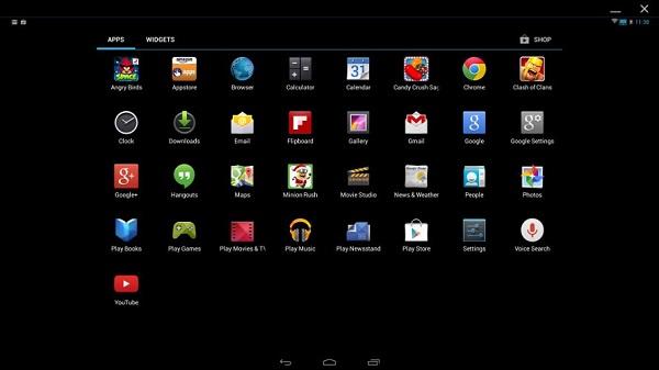 新安卓模拟器 无缝切换Windows与安卓