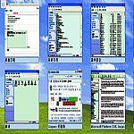 桌面宫格1.0.0绿色版(以缩略图方式罗列所有打开的窗口)