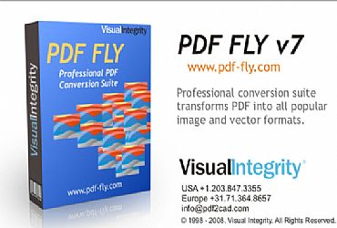 PDF转CAD文件工具PDF FLY V7.1 破解版