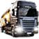 欧洲卡车模拟2肯沃斯W900拖车mod