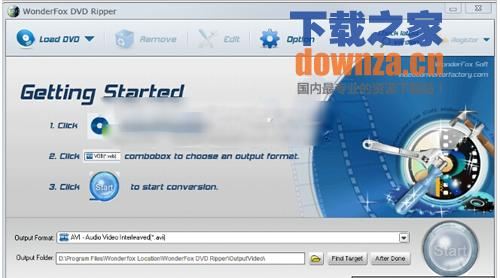 WonderFoxDVDRipper(DVD视频抓取转换工具)v5.1特别版