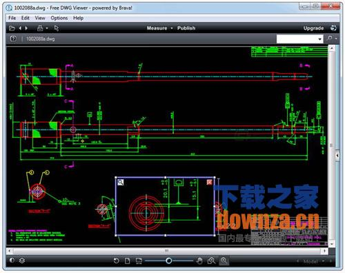 DWG、DWF、DXF查看浏览器 Free Dwg Viewer