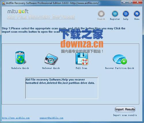 Aidfile Recovery Software Professional(数据丢失恢复软件)