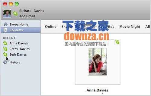 skype for mac 语音沟通工具