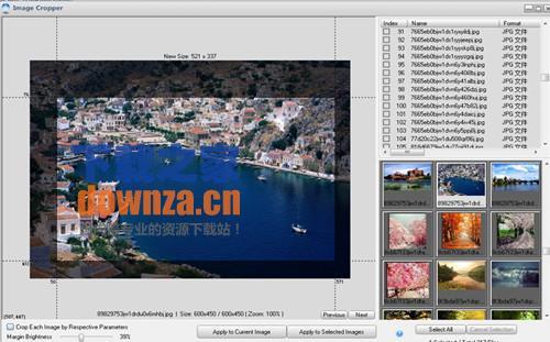 免费图像切割工具Free Image Cropper