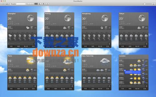 ClassicWeather for mac