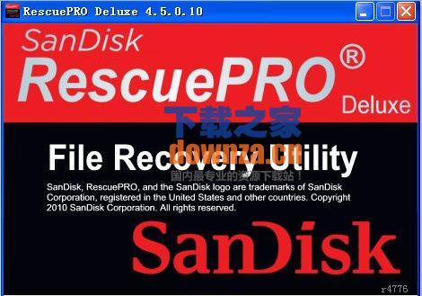 U盘闪存卡数据恢复软件(RescuePRO)