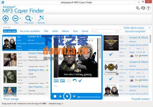 Ashampoo MP3 Cover Finder(MP3专辑封面搜索器)