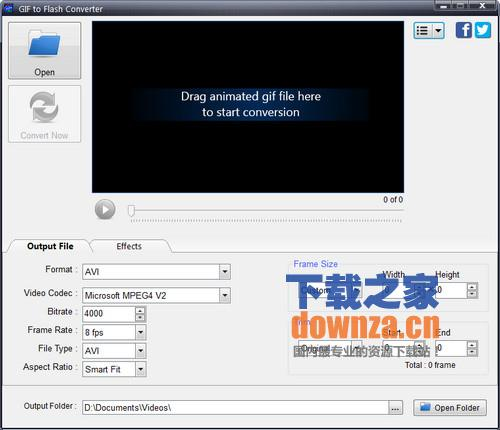 gif转视频(GIF To Flash Converter)
