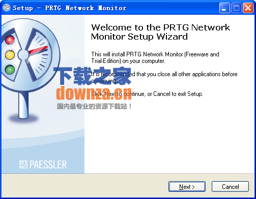 PRTG Network Monitor(网络监控软件)