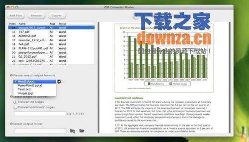 PDF文件转换工具(pdf converter master for mac)