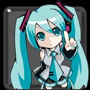 节奏电子乐:初音