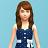 模拟人生4儿童海军连衣裙MOD