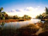 唯美庄园景色桌面壁纸