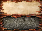 精致砖墙边框素材