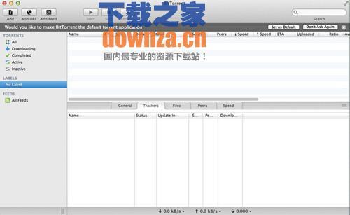 Bittorrent(bt种子下载器) Mac版